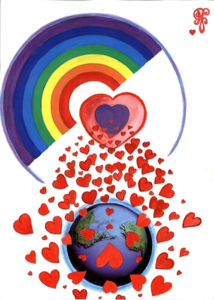 A shower of love falls upon the world with the birth of the New Kids. Let's receive them with as much love.